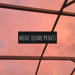 mini square prints!!