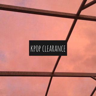 kpop clearance !!