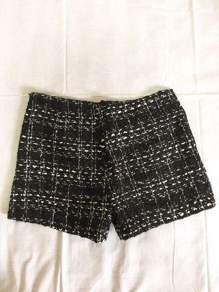 小香風毛尼短褲