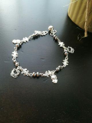 925 Silver HELLO KITTY Bracelet