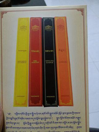 Tibetan incense born for pray 4 pics inside the packet made by herbs it is mainly used for religious purposes, meditation and for Relaxation selling wholesale price