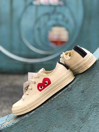 Convers x CDG Play Chuck Taylor 1970  Low