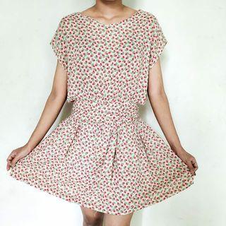 Sabrina Floral Minidress