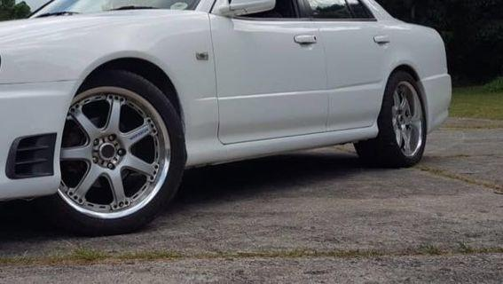 """18"""" RAYS GT-7 Rims (Staggered)"""