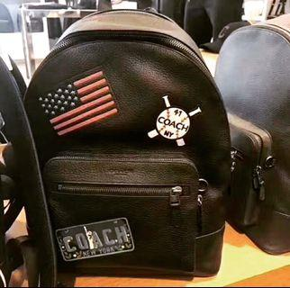 Coach West Backpack With American Dreaming Patches