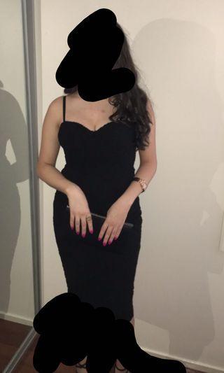 FRESHSOUL black lace dress