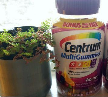 善存 Centrum 女士綜合維他命軟糖 Multigummies 164粒