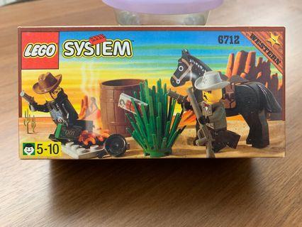 LEGO system 6712 西部牛仔 警察 police