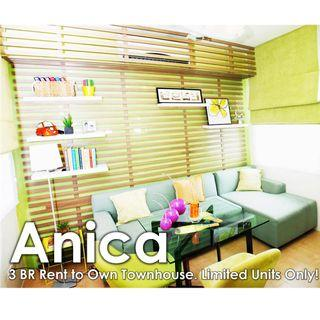 3 BR Rent to Own Townhouse for Sale in Imus, Cavite. 212K to Move in!
