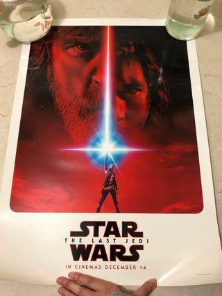 Star Wars The Last Jedi 電影海報Poster