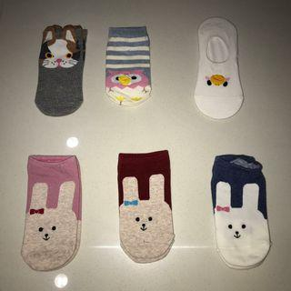 bn ulzzang cute ankle socks