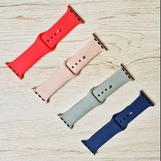 [READY STOCK] Assorted Apple Sports Band, iwatch strap for apple watches series 3 42mm/series 4/3/2/1, 38mm/40mm/42mm/44mm
