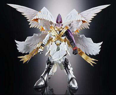 "Bandai Tamashii Nations Digivolving Spirits 07 Holy Angemon ""Digimon"" Action Figure"