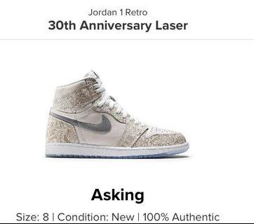 Jordan 1 Retro Laser 30th Anniversary 30週年 限量版