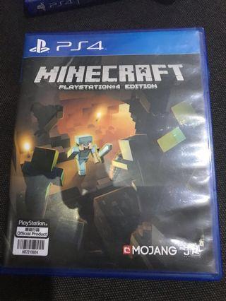 Minecraft ps 4