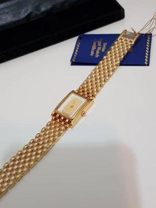 Gold watch for ladies (Swiss Ingot)