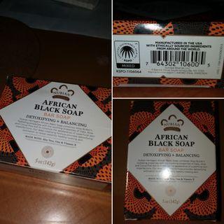 [ 現貨 ] 全新 Nubian Heritage, African Black Soap 天然非洲黑皂 141 g