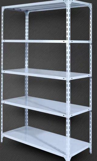 大大減價:平售白色五層鋼置物架