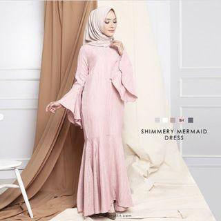 Shimmery Dress Mayoutfit