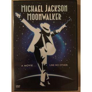 DVD Michael Jackson Moonwalker movie