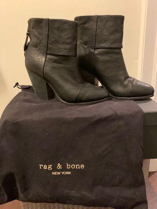 Rag & Bone Leather Newbury Boots