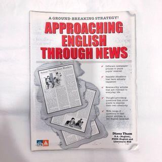 Approaching English Through News [Comprehension Guidebook with Additional Practices to Improve Grammar & Vocabulary]