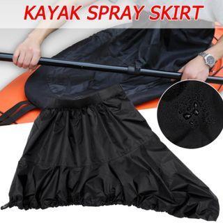 Spray deck skirt canoe kayak