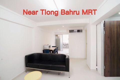 ⭐️Near to Tiong Bahru MRT/shopping mall 2 bedrms HDB whole unit for rent, good condition, renovated, well furnished. Available immediately, minimum one year lease. - 18 Taman Ho Swee