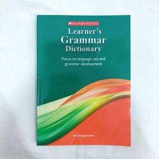 🚚 Learner's Grammar Dictionary [Primary/ Secondary/ JC/ A Level/ O Level/ IP/ IB]