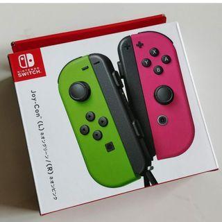 Used Nintendo switch joy con ( green/pink )