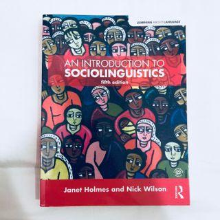 🚚 English Language & Linguistics: An Introduction to Sociolinguistics [A Levels/ JC]