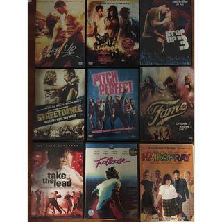 DVD Dance movies