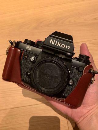 Nikon F3HP Body and Half Case 199xxxx