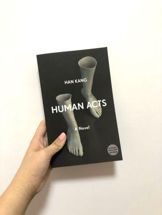 ✨ [brand new] human acts by han kang