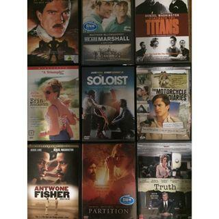 DVD Movies based on true stories