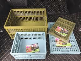 日本-摺疊萬用收納箱(墨綠色)