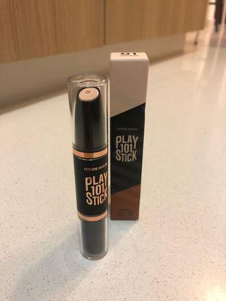 🚚 Etude House Play 101 Stick (shading/highlighting 2 in 1)