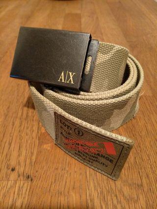 🚚 Armani Exchange men's camouflage belt