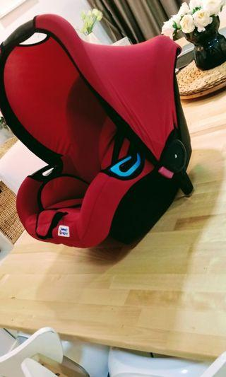 Baby carrier - sweet cherry