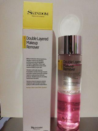 Double Layered Makeup remover