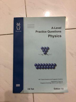 alevel h2 physics practice questions