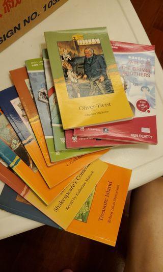 小學英文小書, 課外閱讀
