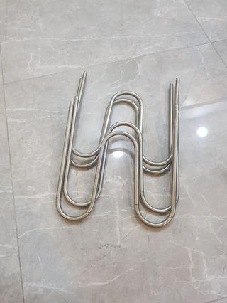 Ss stainless steel bend pipe