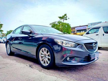 (Malaysia Car) Mazda 6 Skyactive 2.0 (A) 2013