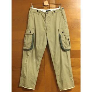 🚚 WORKWARE paratrooper pant 卡其 排扣長褲 (W32)