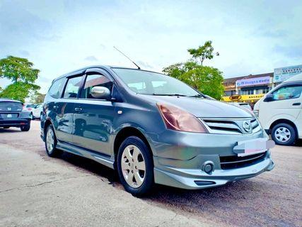 (Malaysia Car)Nissan Grand Livina 1.6 (A) 2012
