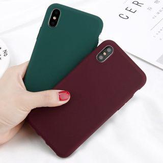 iPhone XS Max Case (Green Color)