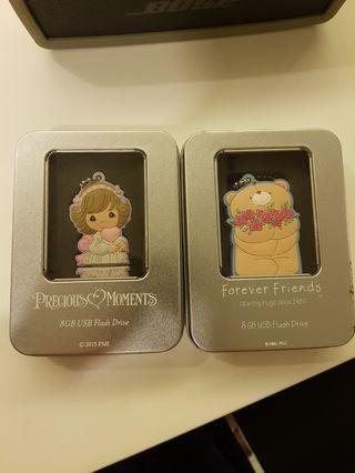 Precious Moment 8 GB USB Drive Gift Set