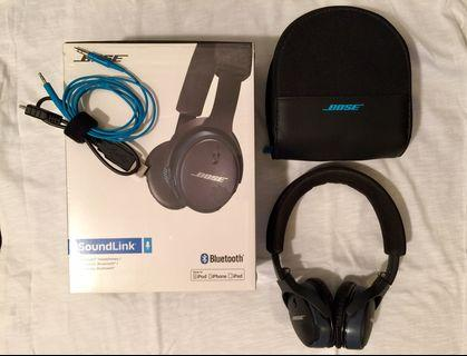 Bose SoundLink Bluetooth Headphone
