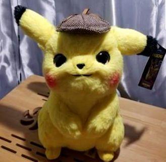Soft Toy : Detective Pikachu